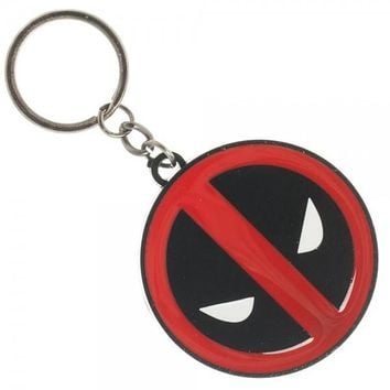Marvel Deadpool Metal Keychain