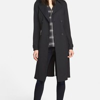 Women's Trouve Belted Trench Coat,