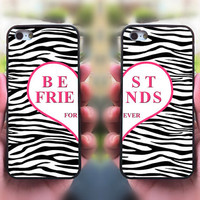 iphone 4 case,Best Friends,iphone 5S case,iphone 5C case,Zebra,iphone 5 case,ipod 4 case,ipod 5 case,ipod case,iphone case,call phone case