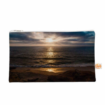 "Nick Nareshni ""La Jolla Sunset On Beach"" Blue  Everything Bag"