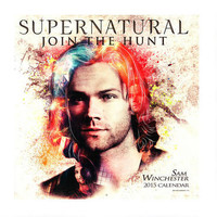 Supernatural Jared Padalecki as Sam Winchester 2015 Wall Calendar | WBshop.com | Warner Bros.