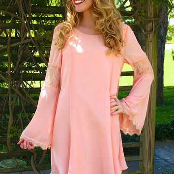 Always Peachy Dress: Peach