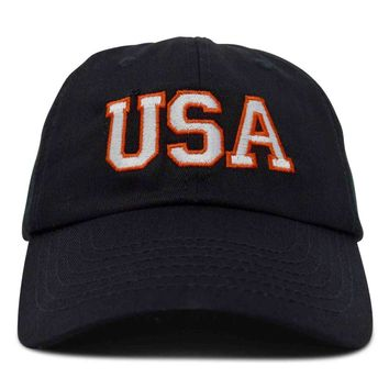 DALIX USA Baseball Cap Flag Hat Team US America