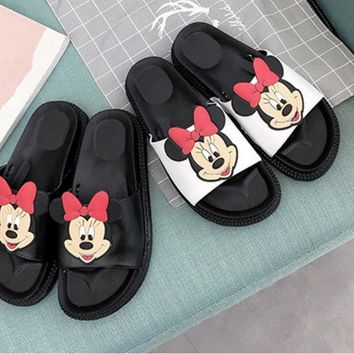Summer Woman Slippers Sandals Fashion Creeper Slides Wedges Platform Women Carto