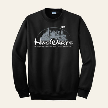 Harry Potter Clothing Hogwarts Castle Parody Sweater Sweatshirt Crewneck Men or Women Unisex Adult