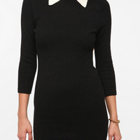 Pins and Needles Collared Sweater Dress