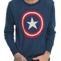 Marvel Captain America Pullover Sweater