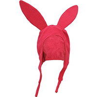 Ripple Junction Bob's Burgers Louise Beanie Adult Hat, Pink, One Size Fits Most