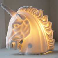Unicorn Ceramic Lamp
