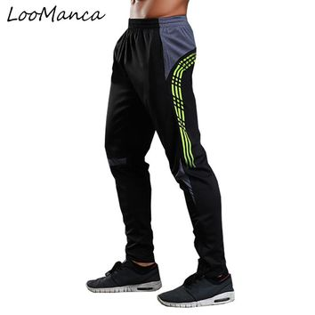 Top Quality Professional Soccer Training Pants Slim Skinny Football Running Pants Quick Dry Men's Fitness Sport Long Trouser