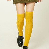 Adjustable Knee-High Socks - Women - New Arrivals - 2000192460 - Forever 21 EU English