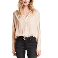 Women V neck chiffon basic blouses long sleeve office shirts elegent business work wear European fashion casual tops LT849