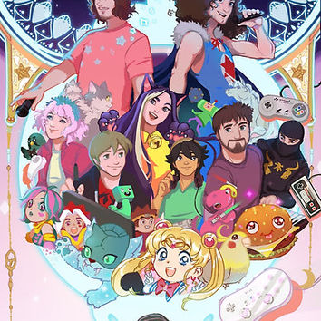 Game Grumps Wonderland by Sanshodelaine