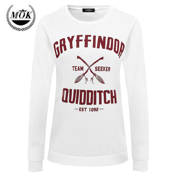 Dmart7deal  Harajuku Gryffindor Quidditch Harry Potter Shirt Sweatshirt  Shirt Plus Size S M L XL