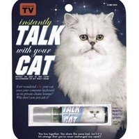 Instantly Talk With Your Cat Breath Spray
