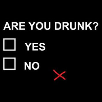 Funny Are You Drunk Checklist T-shirt! Beer tshirt for the ultimate beer drinker! Available in various sizes and colors!