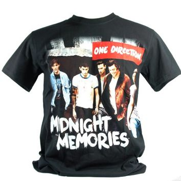ONE DIRECTION (Midnight Memories) ODR1353 Size M Medium NEW! T-SHIRT Tour