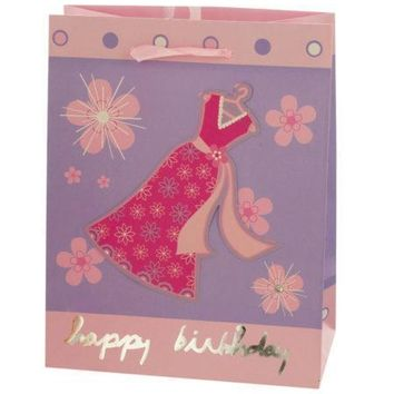 Small Happy Birthday Giftbag 4 Styles Assorted (Available in a pack of 24)