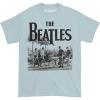 Beatles Men's  Bicycle T-shirt Blue