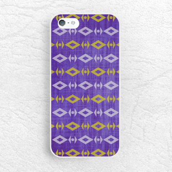 Aztec Tribal pattern phone case for iPhone, Sony z1 z2 z3 compact, LG g2 g3 nexus 5, HTC one M8 M9, Moto x Moto g, purple navajo cover -P42