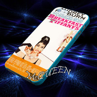 Audrey Hepburn Broadway Musical cover case for iPhone 4,4S,5,5C,5S,6,6 Plus,Samsung Galaxy s3,s4,s5,Note 3,