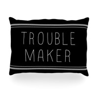 "Skye Zambrana ""Trouble Maker"" Oblong Pillow"