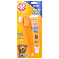 Arm & Hammer® Advanced Pet Care Dog Toothpaste & Brush Set