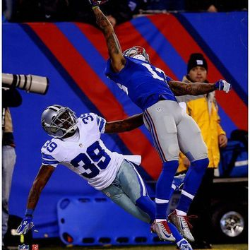 NOVO5 Odell Beckham Jr One-Handed Catch Vertical 16x20 Photo PF nbrAARM177