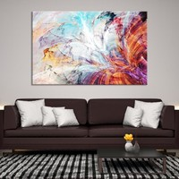 91322 - Abstract Wall Art | Abstract Printing Art | Marble Wall Art | Abstract Canvas | Ink Painting Art | Marbling Print | Contemporary Art