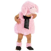 Squiggly Pig Costume - Baby (Pink)