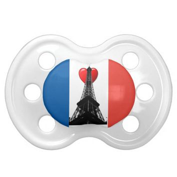 Eiffel Tower Pacifier