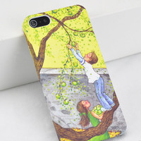 Picking Fruit Printing IPhone5 Case on Luulla
