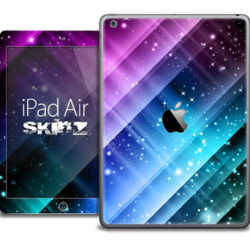 The Neon Glow Paint Skin for the iPad Air, iPad Mini, iPad 1st, 2nd, 3rd or 4th Generation