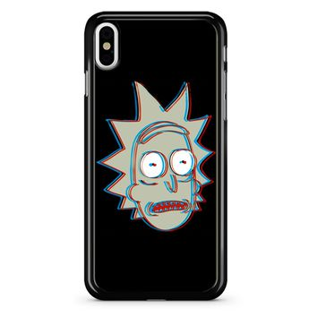 Rick And Morty - 3d Rick iPhone X Case