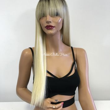 BLONDE OMBRE FULL Wig 11835 ON SALE