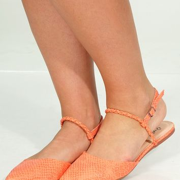 Hunting We Will Go Flats: Peach