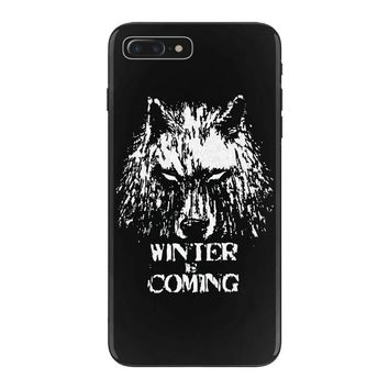 game of thrones direwolf winter is coming iPhone 7 Plus Case