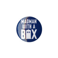 Doctor Who Madman With A Box Pin