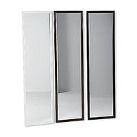 Essential Home Full-Length Door Mirror - White
