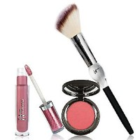 It Cosmetics Look of Love Blush & Lip Stain Duo with Brush — QVC.com