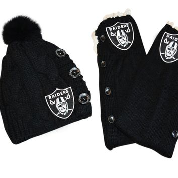 Raiders Leg Warmers and or Beanie
