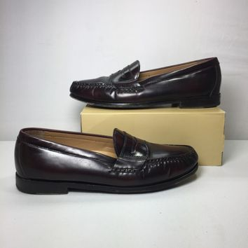 Cole Haan Men's Burgundy Pinch Grand Penny Loafer, Size 10.5M