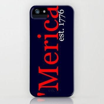 'Merica iPhone Case by Jordan Virden | Society6