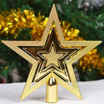 2PCS Party Supplies Christmas Tree Stars Decoration