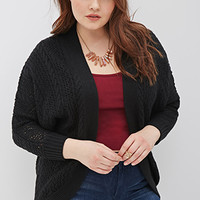 Loose-Knit Dolman Cardigan