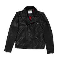 Selected Greaser Leather Biker Jacket