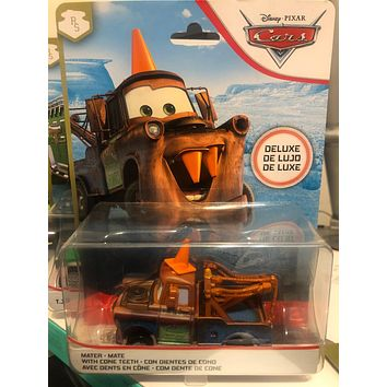 Disney Cars 3 Diecast 1:55 Scale Oversized Deluxe 2020 Mater Cone Teeth