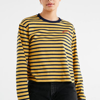 You Got This Striped Long Sleeve Tee | Urban Outfitters