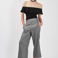 Cropped Wide Leg Trousers - New In