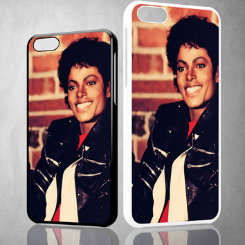 Michael Jackson 2 V1179 iPhone 4S 5S 5C 6 6Plus, iPod 4 5, LG G2 G3 Nexus 4 5, Sony Z2 Case